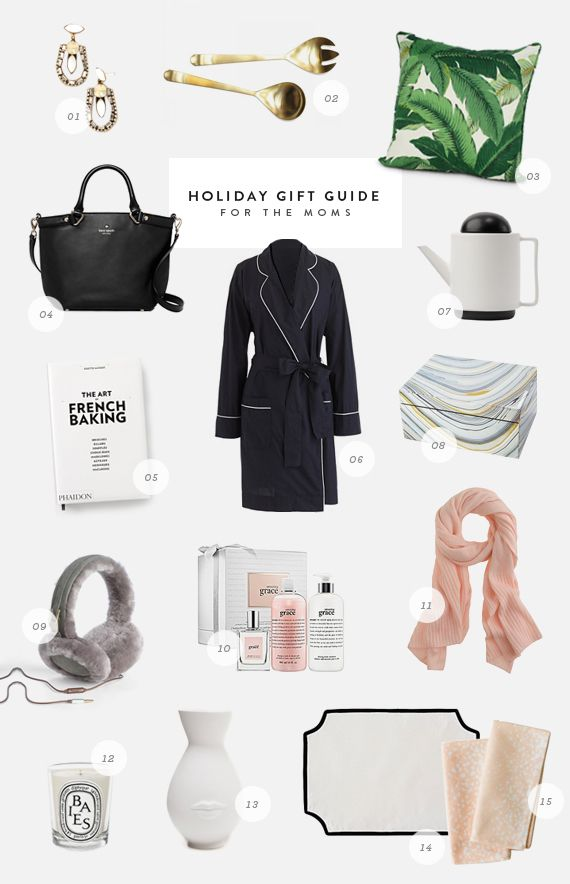 holiday gift guide / for the moms