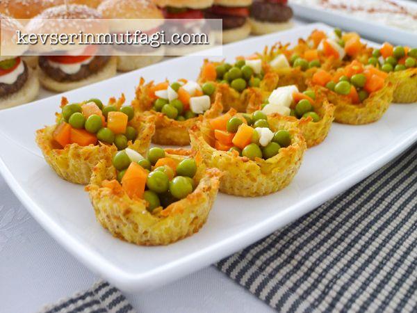 Patates Çanakları Tarifi - Kevser'in Mutfağı - Yemek Tarifleri