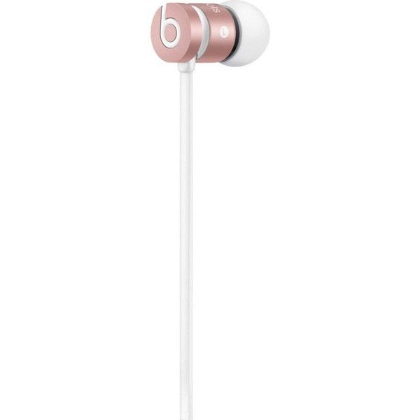 BEATS BY DRE Urbeats in-ear headphones ($115) ❤ liked on Polyvore featuring accessories, tech accessories, metallic headphones, beats by dr. dre, metal headphones and beats by dr dre headphones