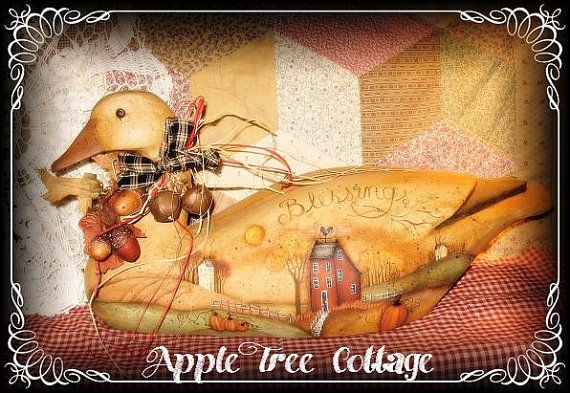 Gorgeous goose from Apple Tree Cottage!!
