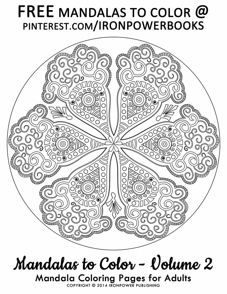 advanced mandala coloring pages for adults ironpower publishing please use freely for personal non