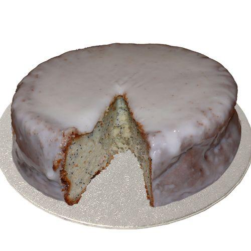 Lemon and poppy seed gluten free/lactose free cake! YUM!