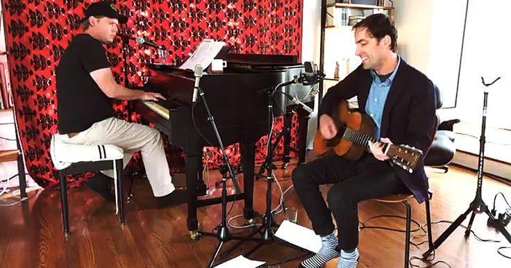 See Tim Heidecker, Andrew Bird Perform 'Trump Talkin' Nukes' as Ballad #headphones #music #headphones