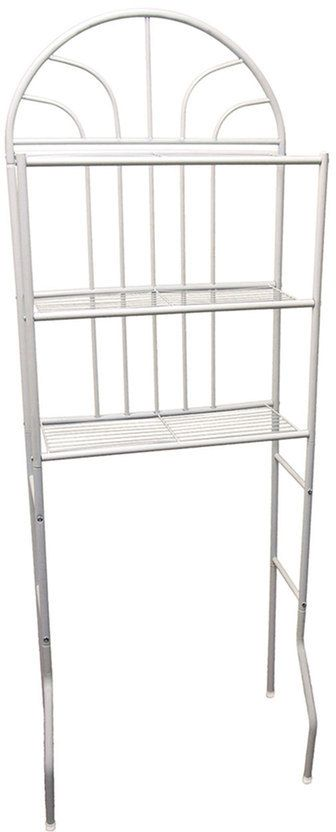 Home Basics 3-Shelf Bathroom Space Saver