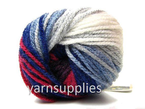 knitting acrylic yarn batik crochet yarn Alize by yarnsupplies, $4.75