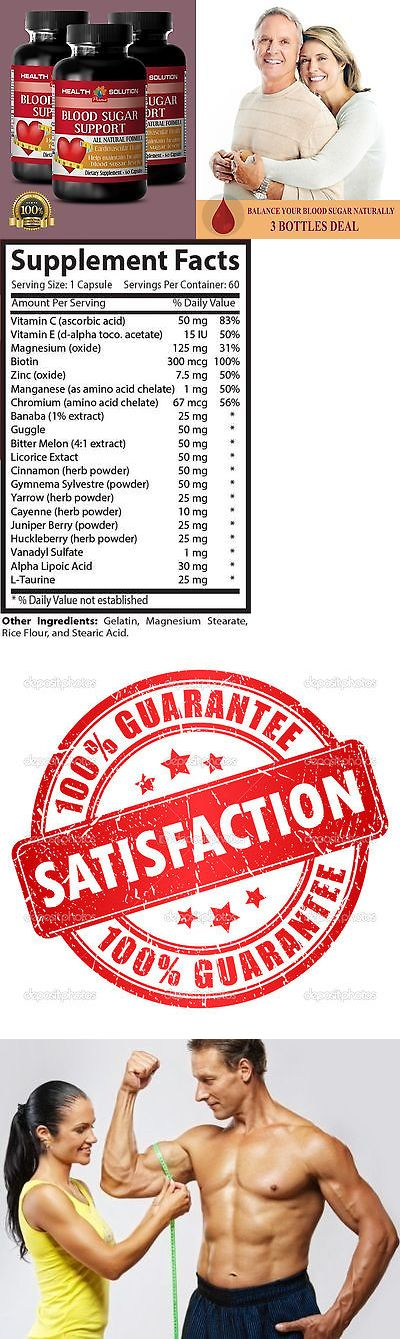 Appetite Control Suppressants: Herbal Supplement - Blood Sugar Support - Cardiovascular Health - 3B 180Ct BUY IT NOW ONLY: $32.95