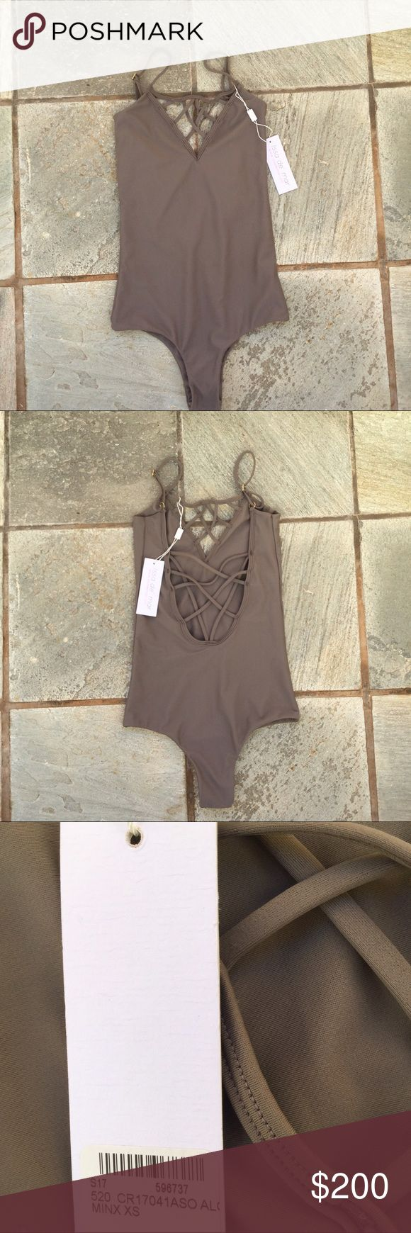 ($155 🅿️🅿️) Issa de' Mar Sao Paulo One Piece NWT never worn issa de mar sao paulo one piece. never worn, perfect condition. cheeky cut, super trendy flattering suit, great fit. charcoal gray ish color, very pretty goes great w all skin tones. love love this suit but i have to sell. last picture is just to show the fit, not same color. open to trades and offers! (selling cheaper other places)  brand: issa de mar size: xs, could definitely fit a s color/print: minx brown acacia swimwear Swim…
