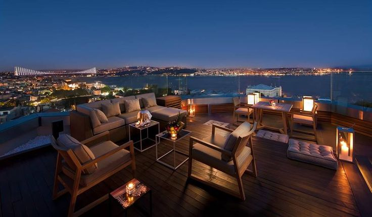 Break away to Istanbul with your other half this month and dine with a sensational view of the Bosphorus. #ValentinesDay