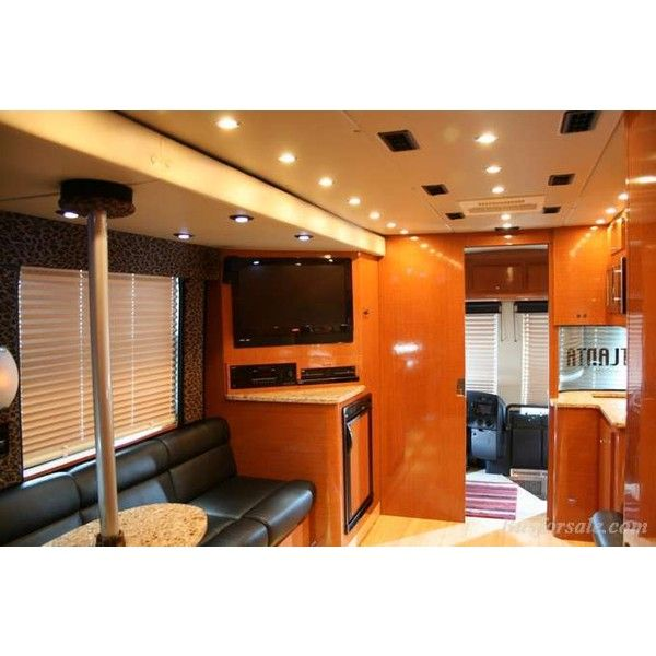 2009 Prevost bus   New and Used Buses, Motorhomes and RVs for sale ❤ liked on Polyvore featuring photos, tour bus, bus and home