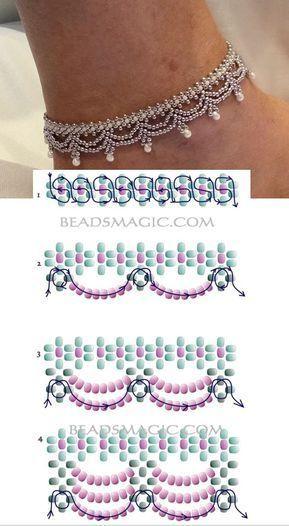 Muster für Halskette Ägypten