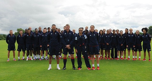 Team GB Football squads