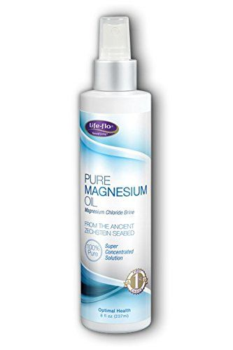 Life-flo Pure Magnesium Oil 8 oz Spray - 4 Pack >>> You can get more details by clicking on the image. (This is an Amazon Affiliate link and I receive a commission for the sales)