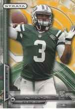 2014 Topps Strata Gold #174 Tajh Boyd New York Jets