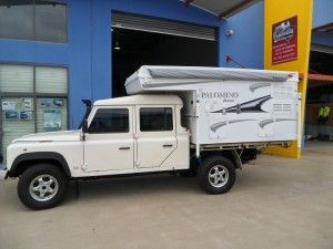 Slide on Camper - Landrover Twin Cab and B600 Truck - Campers | Palomino RV Australia