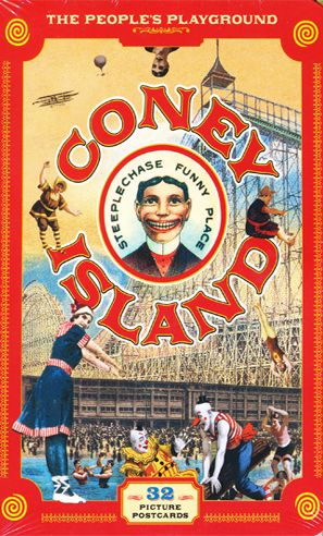 coney island postcard