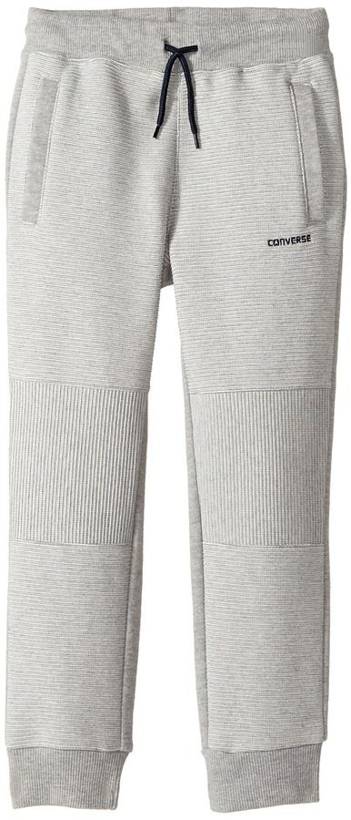 Converse Textured Knit Slim Joggers Boy's Casual Pants