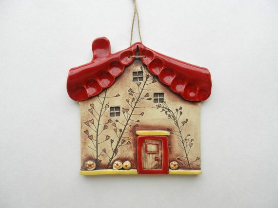 Hey, I found this really awesome Etsy listing at https://www.etsy.com/listing/190136863/ceramic-house-wall-hanging-ceramic