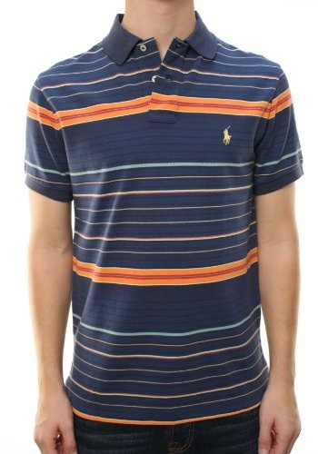 a0987f681 Polo Ralph Lauren Men s Custom Fit Striped Polo « Clothing Impulse