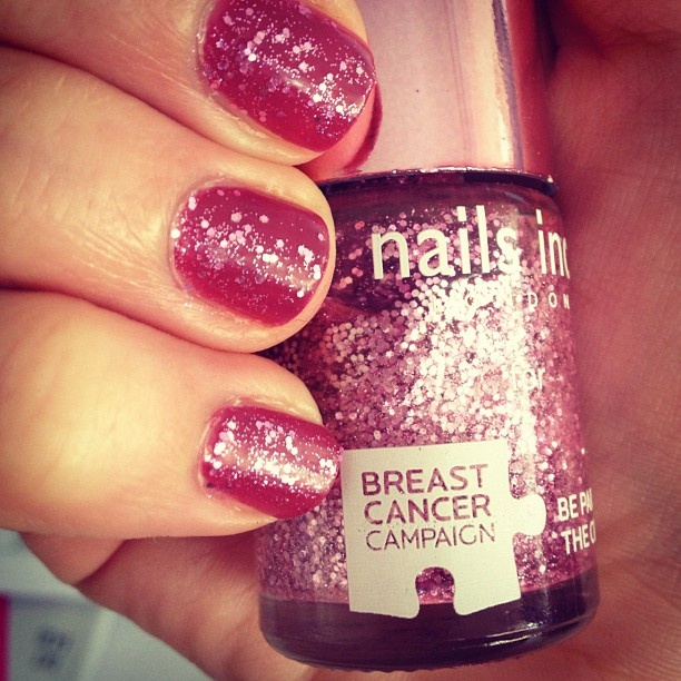 Vogue, LondonNails Art, Pretty Nails, Pinkie Pink