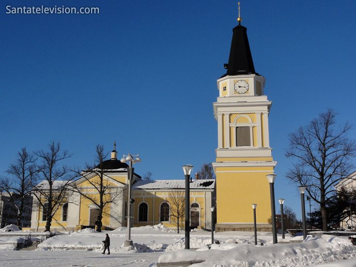 The Old Church of Tampere in Finland