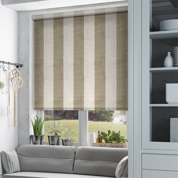 Choices Shoreham Coffee & Cream Roller Blind%20from%20Blinds%202go