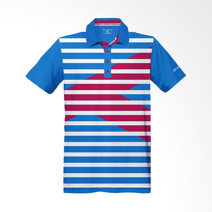 Svingolf Royale Polo Aqua Blue Baju Golf