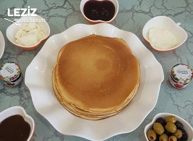 Kahvaltılık Krepler