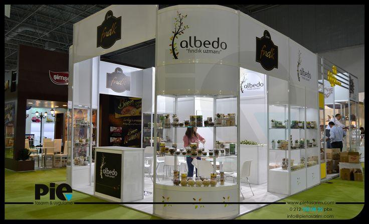 WorldFood Fuarı ''ALBEDO'' Stand Uygulamamız