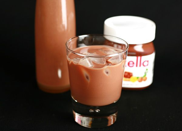 Creamy Nutella Liqueur - MUST MAKE for New Years!