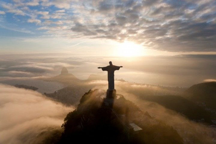 Lee Thompson's journey through Christ the Redeemer (no, really, like literally inside), to the top! [This pin description was written by Libbi Diane Flynn]