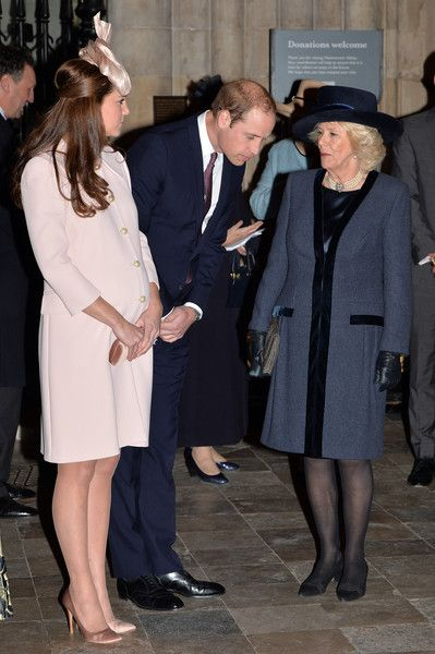 Camilla Parker Bowles Photos: Commonwealth Service At Westminster Abbey