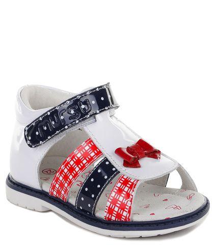 Mursu Сандалии открытые для девочки - Купить за 2120 руб. в интернет-магазине Kinderly - артикул 100449