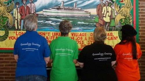 Pre-Order Your Unlock the Past Cruise T-shirts For the PNG Cruise - Genealogy & History News
