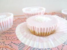 Recept: Gezonde (re) cheesecake cupcakes! Healthy cheesecake (kwarktaart) cupcakes maak je zo! cupcakes! (no bake)
