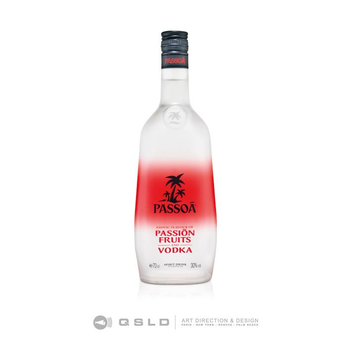 Passoa Vodka - Design By QSLD