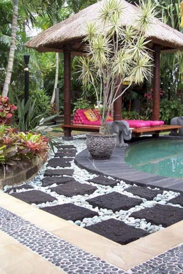 55 Gorgeous Rock Pathway Design Ideas To Enhance Your Beautiful Garden 39