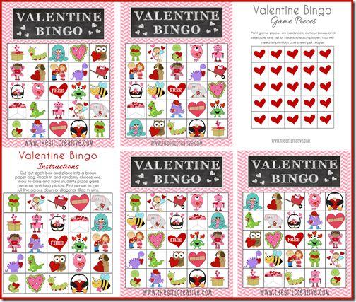 The 25 best Valentine bingo ideas – Valentines Day Bingo Cards