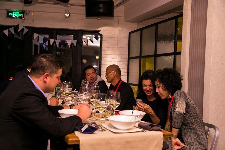Evento en el restaurante Chelsea en Shangai