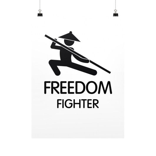 Freedom Fighter - Poster