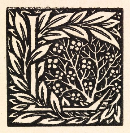 Love is enough. William Morris