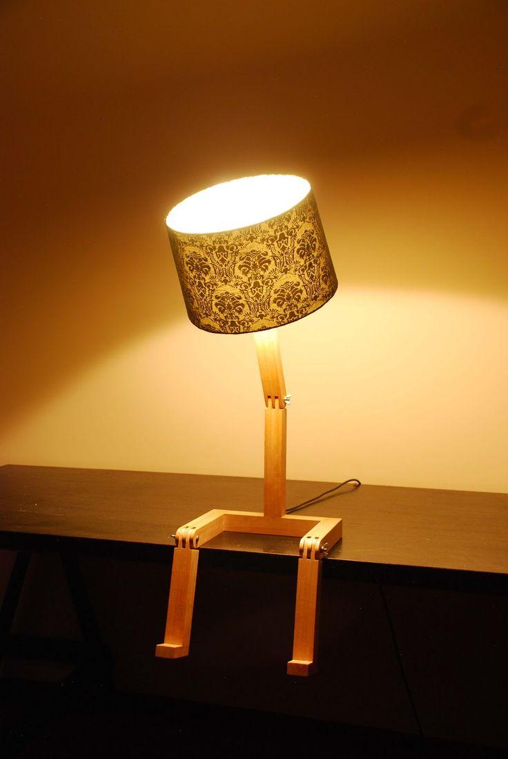 Sitting Lamp by Graeme Bettles.