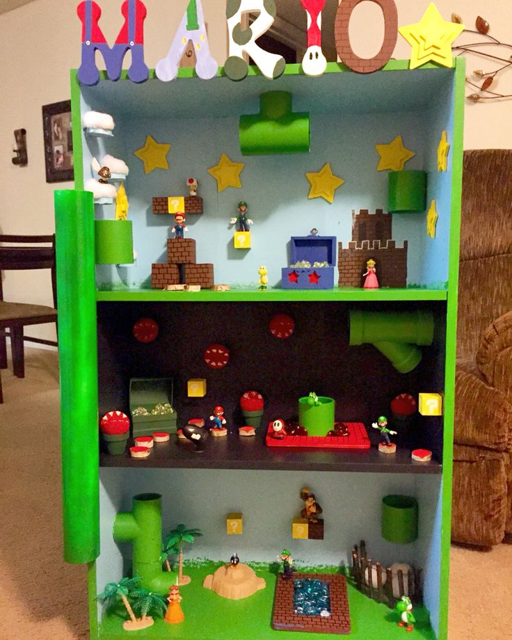 super mario playhouse