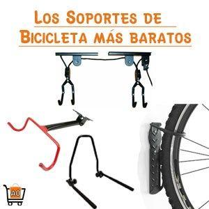 Cada vez se hace un poco más difícil poder guardar una bicicleta en casa; por ello les mostramos los diferentes tipos de soportes de bicicleta que pueden ahorrar espacio en casa.