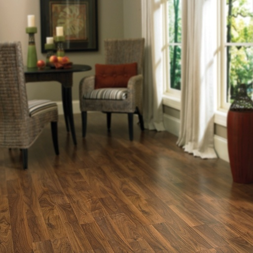 Columbia Style Columbia Clic Laminate Floors Color Heritage Walnut Smoke 2