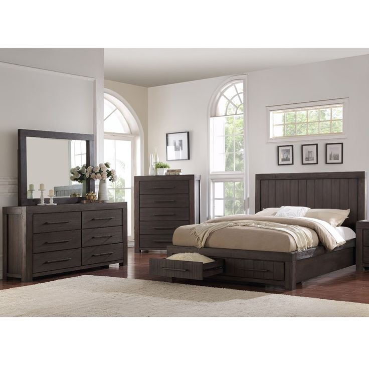 heath 5 piece king storage bedroom weekends only furniture and mattress