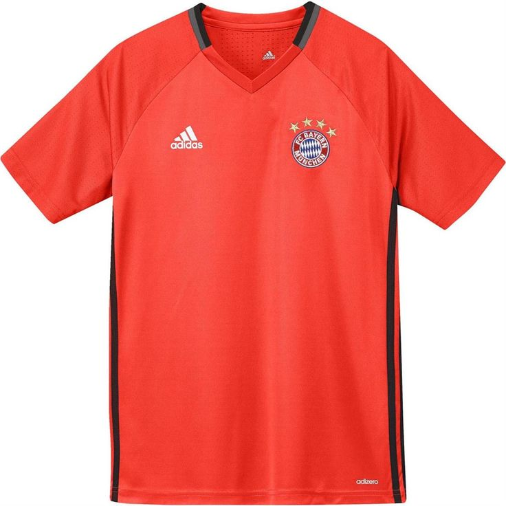 adidas Youth FC Bayern Munich 2016/17 Training Jersey - Goal Kick Soccer