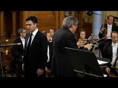 Nicholas Phan sings Benjamin Britten: Serenade for Tenor, Horn and Strings op. 31, movements Elegy and Dirge.