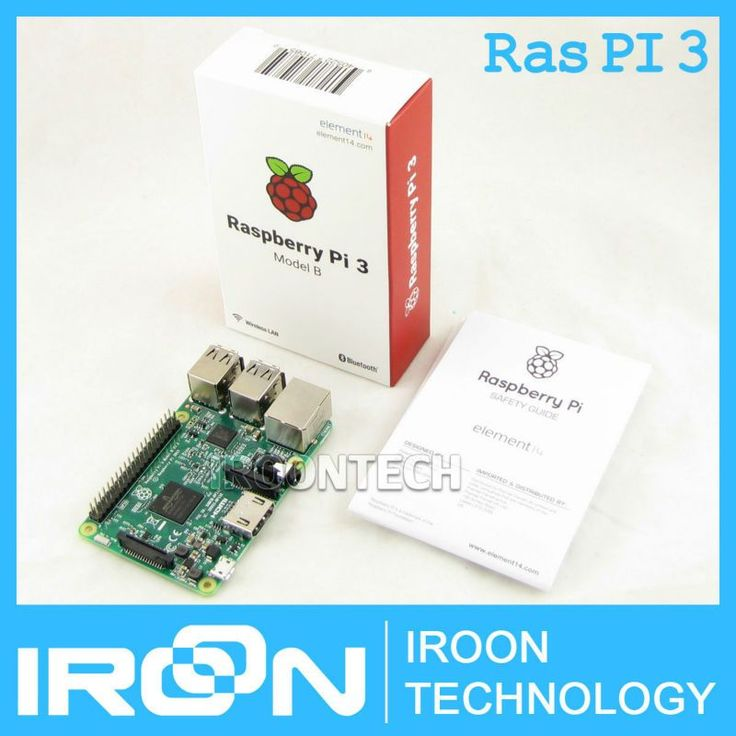 Element14 Version: 2016 New Raspberry Pi 3 Model B Board 1GB LPDDR2 BCM2837 Quad-Core Ras PI3 B,PI 3B,PI 3 B with WiFi&Bluetooth www.peoplebazar.net    #peoplebazar
