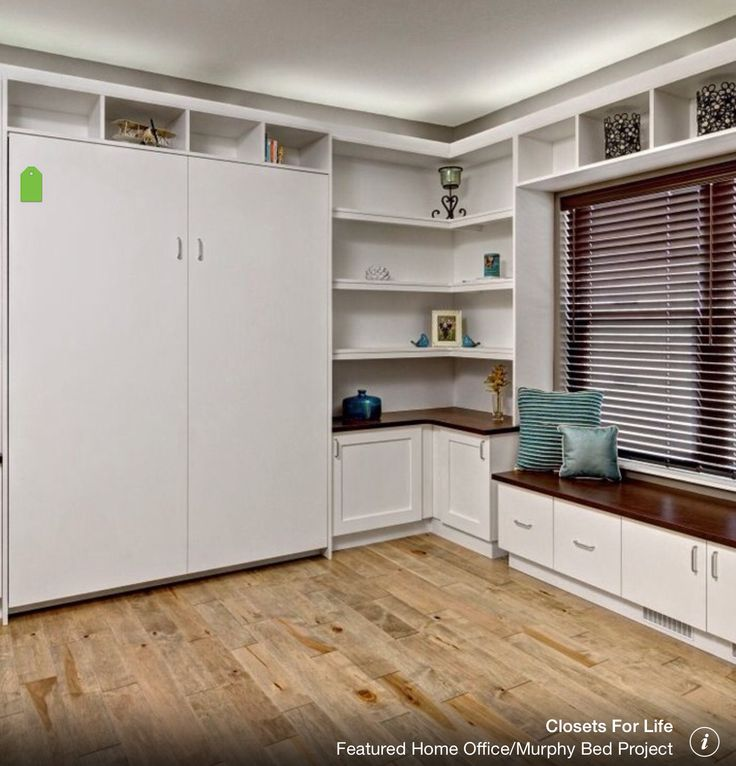 Featured Home Office/Murphy Bed Project   Contemporary   Home Office    Minneapolis   Closets For Life