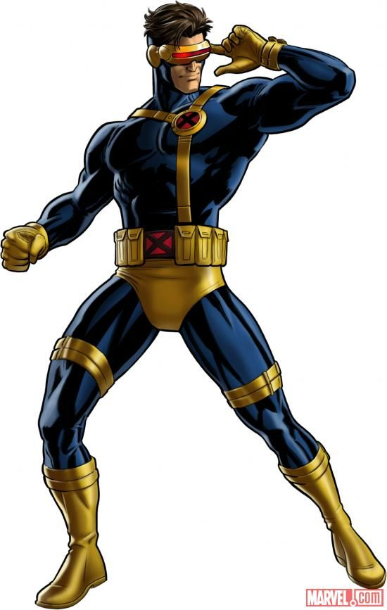 Cyclops X-Men Cartoon | Marvel Avengers Alliance Adds More Character and Costumes